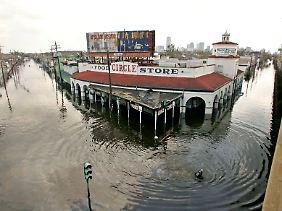 "Hurrikan ""Katrina"" offenbart das Missmanagement der Regierung."