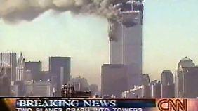CNN sendete erste Live-Bilder.