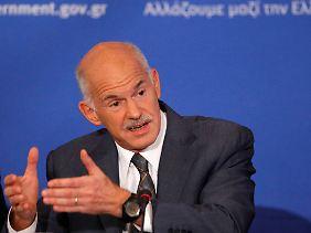 Griechenlands Ministerpräsident Papandreou will kämpfen.