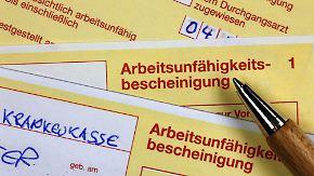 Fehlzeiten bei der Arbeit: Gelsenkirchener am häufigsten krank
