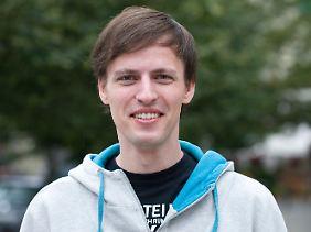Andreas Baum ist der Spitzenkandidat der Piraten in Berlin.
