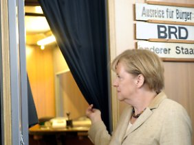 """Merkel hat im Tränenpalast selbst """"sehr, sehr traurige"""" Momente erlebt."""