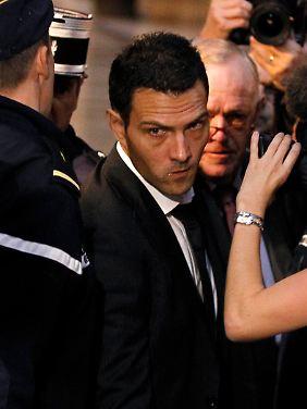 Jérôme Kerviel im Oktober vergangenen Oktober auf dem Weg ins Pariser Gericht.