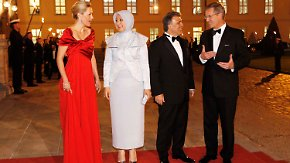 Nach Bombendrohung: Wulff empfängt Gül