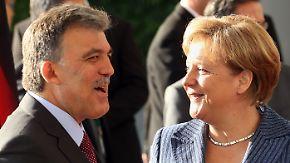 Absage von Merkel: Gül wünscht EU-Vollmitgliedschaft