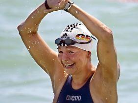 Weltmeisterin: Angela Maurer.