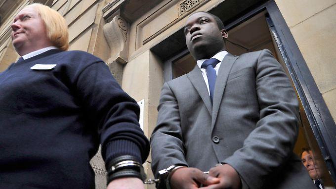 Kweku Adoboli stellte keinen Antrag für eine Entlassung auf Kaution.