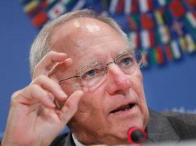 Schäuble in Washington.