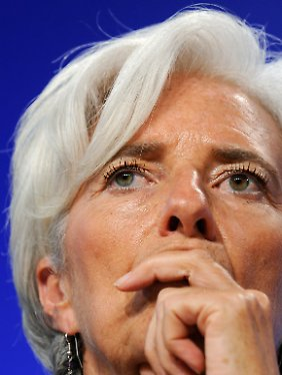 Ahnt Schwierigkeiten: Christine Lagarde.