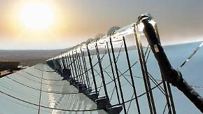 Sonnenstrom aus der Wüste: Desertec setzt auf Technik aus Italien