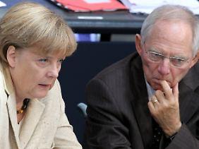 Merkel und Schäuble konnten ihre Kritiker beschwichtigen.