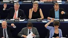Koch-Mehrin im Parlament.