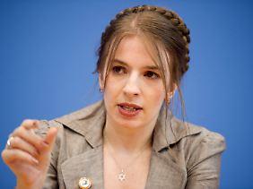 Marina Weisband ist politische Geschäftsführerin der Piraten - und eine von wenigen Frauen in der Partei.