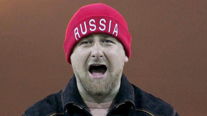 Präsident Kadyrow weiß, wie man feiert.