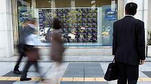 Gerüchte um Sony-Deal: Nikkei schließt im Plus