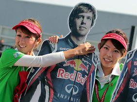 Offenbar auch in Suzuka beliebt: Der alte und neue Weltmeister.