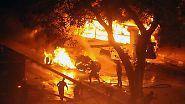 Straßen von Kairo brennen: Kopten-Demo endet in Blutbad