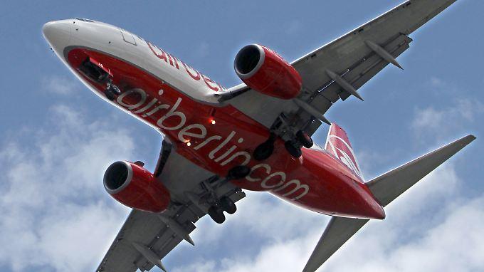 Top-Bonuskarte für Abgeordnete: Air Berlin verteilt großzügig Geschenke