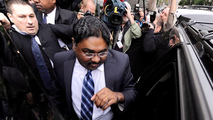 Millionenbetrug mit Insiderhandel: 11 Jahre für Raj Rajaratnam