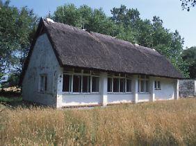 Das ehemalige Ferienhaus Gret Paluccas (1902-1993) in Vitte. Es wurde im März 2009 abgerissen.