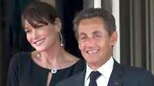 Kind da, Vater weg: Baby Sarkozy beflügelt Franzosen