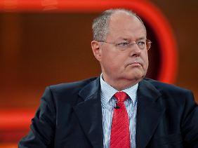 Steinbrück: Die Menschen sehen nicht, wie wichtig und gut der Euro für sie ist. Sie sehen nur die Euro-Krise.