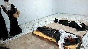 Hinweise auf Massaker in Sirte: Gaddafi soll in Wüste beerdigt werden