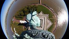 Weltberühmtes Wahrzeichen: Die Freiheitsstatue in New York