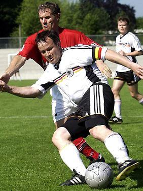 Der Eindruck täuscht: CDU-Politiker Klaus Riegert ist tatsächlich äußerst unsportlich.