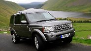 In der schottischen Wildnis: Land Rover Discovery