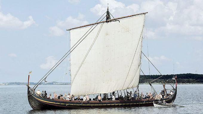 Die Wikinger entdeckten Amerika wahrscheinlich lange vor Christoph Kolumbus.