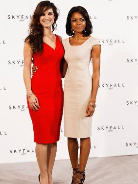 Das sind sie, die neuen Girls: Berenice Marlohe (l) und Naomie Harris.