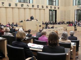 Horst Seehofer hielt bei der Sitzung seine Antrittsrede als Bundesratspräsident.