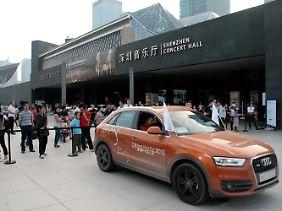 Die samoa-orangenen Q3 bleiben auch nach der Tour in China.