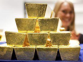 """Die Reserven verwaltet die Bundesbank: """"Es gibt keinen Grund und auch keinen Versuch, daran etwas zu ändern""""."""