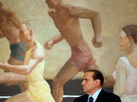 Die Verbündeten laufen ihm weg: Berlusconis Ende naht.