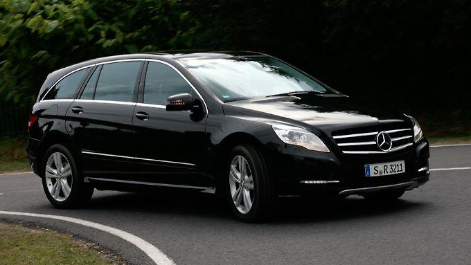 Eine gute Idee, die noch nicht recht angenommen wird: die R-Klasse von Mercedes.