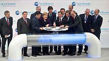 Feierliche Zeremonie in Greifswald: Ostseepipeline geht in Betrieb