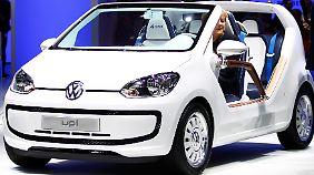 VW Up: 2012 rollt er auf die Straßen.