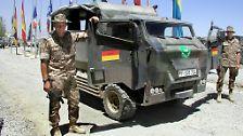 Aus dem Fuhrpark der Bundeswehr: Der Leo und seine Freunde