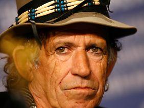 Ein Kerl, der alles überleben kann: Keith Richards.