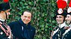 """Regierungschef in einem """"Scheißland"""": Berlusconi sagt """"Ciao"""""""