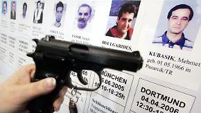 Mit einer Pistole dieser Bauart wurden mehrere Betreiber von Imbissstuben ermordet.