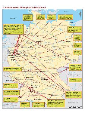 Besonders aktiv ist die 'Ndrangheta Forgione zufolge auch in Deutschland.