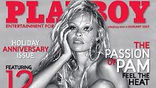 """... ließ knapp ein Dutzend Mal im """"Playboy"""" die Hüllen fallen (im Bild: US-Ausgabe von 2007), ..."""