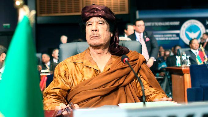Muammar al-Gaddafi gilt bei Diplomaten und Politikern als launisch und exzentrisch.