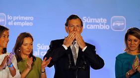 Rajoy wird Ministerpräsident: Spanien wählt in Krise konservativ