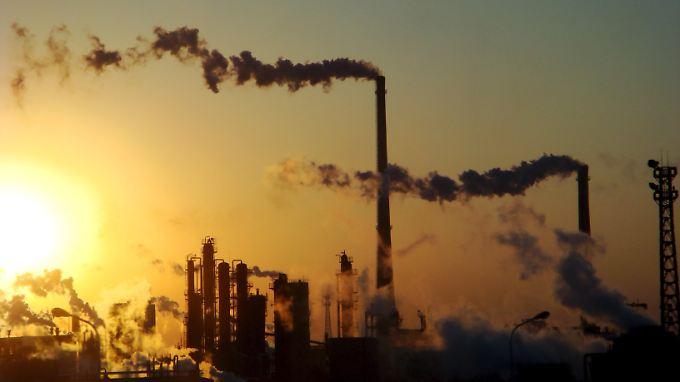 Chemiefabrik im nordchinesischen Tianjin.