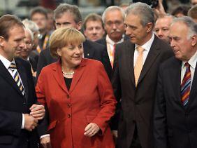 """Angela Merkel bezeichnet die Wirtschaft als den """"geschlossensten Bereich"""", was die Gleichberechtigung betrifft."""
