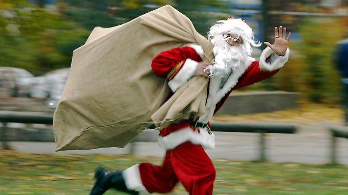 Ein Run auf die Weihnachtsgeschenke: deutsche Verbraucher weiter in Kauflaune.